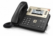 SIP-T27G SIP-телефон, 6 линий, BLF, PoE, GigE