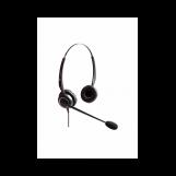 VT5000-D QD(P)-RJ9(03) Гарнитура головная VT, Дуо, узкополосный звук, QD, переходник QD-RJ09(03)