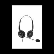 VT1000-D RJ9(03) Гарнитура головная VT, Дуо, узкополосный звук