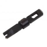 NMC-14ТА Нож-вставка NIKOMAX для заделки витой пары в кроссы типа 66/88/110, крепление Twist-Lock, черная