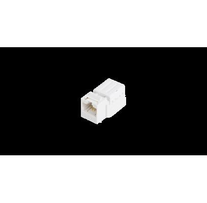 NMC-KJUD2-ST-WT Модуль-вставка NIKOMAX типа Keystone, Кат.5е (Класс D), 100МГц, RJ45/8P8C, FT-TOOL/110/KRONE, T568A/B, неэкранированный, со шторкой, белый