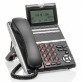 ITZ-12D-3P(BK)TEL IP телефон ITZ-12D-3P, цвет черный