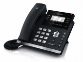 SIP-T42S SIP-телефон, 12 линий, BLF, PoE, GigE, без БП
