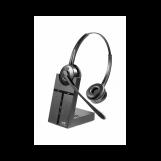 VT9000-D Гарнитура головная VT, Дуо, HD звук, 150м DECT, для телефона