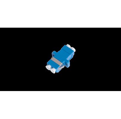 NMF-OA2SM-LCU-LCU-2 Адаптер NIKOMAX волоконно-оптический, соединительный, одномодовый 9/125мкм, LC/UPC-LC/UPC, двойной, пластиковый, синий, уп-ка 2шт.