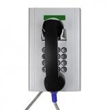 JR204-FK-SIP Всепогодный вандалозащищенный промышленный SIP-телефон с полной клавиатурой и дисплеем