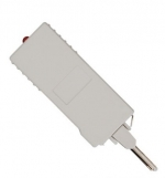 NMC-PL-UP1 Модуль защиты плинтов по току и напряжению NIKOMAX, на 1 пару, индикация перегрузки по току, используется с шиной заземления