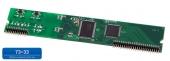 Мезонин MU32-1Е1 Плата расширения для подключения 1 (одного) цифрового потока Е1 (ISDN PRI), устанавливается в шасси UX-3XXX