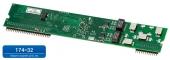 Мезонин MU32-2Е1 Плата расширения для подключения 2 (двух) цифровых потоков Е1 (ISDN PRI), устанавливается в шасси UX-3XXX