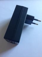 Инжектор PoE ezPower FE-48V-24W; [+]-конт.4,5, [-]-конт.7,8 (A241-4800500EP)