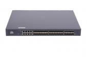 GL-SW-G301-40F Коммутатор GIGALINK управляемый L3, 24 порта 100/1000BaseX SFP, 8 портов 10/100/1000BaseT, 8 портов 1/10GE SFP+, резервный БП (опция)