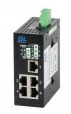 GL-SW-F002-05-I Коммутатор GIGALINK неуправляемый, индустриальный на DIN рейку, 5 x 10/100 mbs, питание 12-24В (питание поставляется отдельно 10 ватт)