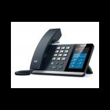Yealink MP54, Skype for Business, SIP-телефон, цветной сенсорный экран, звук HD, USB, PoE, GigE, без БП