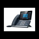 Yealink MP58, Skype for Business, SIP-телефон, цветной сенсорный экран, звук Optima HD, WiFi, Bluetooth, USB, PoE, GigE, без БП