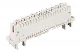 KRONE 2012 LT 121-06 Плинт LSA PROFIL 2/10 LT с размыкаемыми контактами, маркировка 0..9