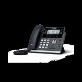 SIP-T43U SIP-телефон, 12 аккаунтов, 2 порта USB, BLF,  PoE, GigE, без БП