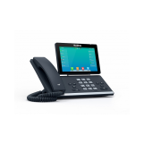 SIP-T57W SIP-телефон, цветной сенсорный экран, WiFi, Bluetooth, GigE, без видео, без БП