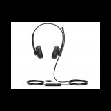 Yealink UH34 Dual Teams Дуо, Гарнитура проводная, HD звук, USB