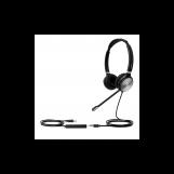 Yealink UH36 Dual UC Дуо, Гарнитура проводная, HD звук, USB и 3,5 mm jack