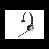 Yealink WH62 Mono Teams Моно, Гарнитура беспроводная, HD звук, 160м DECT, шумоподав., USB-хаб