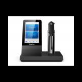 Yealink WH67 UC Гарнитура беспроводная, HD звук, 120м DECT, шумоподав., дисплей 4