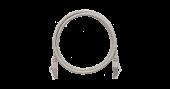 NMC-PC4SD55B-030-GY Коммутационный шнур NIKOMAX F/UTP 4 пары, Кат.5е (Класс D), 100МГц, 2хRJ45/8P8C, T568B, заливной, с защитой защелки, многожильный, BC (чистая медь), 26AWG (7х0,165мм), PVC нг(А), серый, 3м