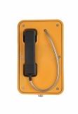 JR103-CB-Y-SIP Промышленный SIP телефон, DC 5V или PoE, 2 SIP аккаунта