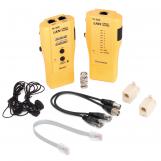 NMC-TE300 Кабельный тестер UTP/STP, BNC, RJ11, RJ12, RJ45, со встроенным переговорным устройством