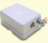 468629.002 АЗУ-РПТ-Е Абонентское защитное устройство (в корпусе с евроразъемом, заземление - винт М4, трехступенчатая защита)