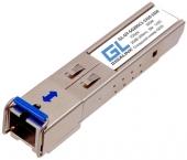 GL-OT-SG20SC1-1550-1310 Модуль GIGALINK SFP, WDM, 1Гбит/c, одно волокно SM, SC, Tx:1550/Rx:1310 нм, 20дБ (до 40 км) (GL-31R)