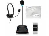 Stelberry SX-402 Комплекс аппаратуры клиент-кассир с подключаемой гарнитурой и 4-канальной системой записи переговоров