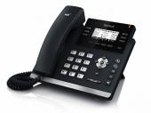SIP-T42S(G) SIP-телефон, 12 линий, BLF, PoE, GigE, без БП