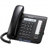 KX-DT521RU-B Цифровой системный телефон Panasonic, черного цвета