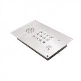JR309-FK-IW-SIP Всепогодная вандалозащищенная вызывная панель с клавиатурой