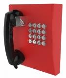 JR207-FK-OW-SIP Промышленный SIP телефон, DC 5V или PoE, 2 SIP аккаунта