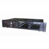 """DXE-04 Базовый блок 4 слота, формат 19"""", 2U, резервирование питания (~220V)/(=24V) с автопереключени"""