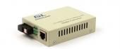 GL-MC-UTPF-SC1F-18SM-1310 Конвертер GIGALINK из UTP, 100Мбит/c в WDM, LFP, SM, SC, Tx:1310/Rx:1550, 18 дБ (до 20 км) (GL-F920T)