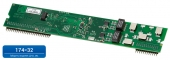 Мезонин MU32-2Е1 Плата расширения для подключения 2 (двух) цифровых потоков Е1 (ISDN PRI), устанавли