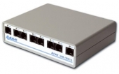 IP-АТС Агат UX-2211B Base (поддерживает от 2-х до 8-ми аналоговых телефонных каналов (интерфейсы FXO