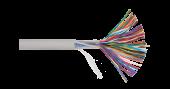 NKL 6120A-GY Кабель NIKOLAN U/UTP 50 пар, Кат.3 (Класс C), 16МГц, одножильный, BC (чистая медь), 26AWG (0,405мм), внутренний, PVC нг(А), серый, 305м