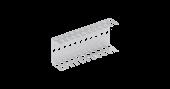 NMC-WCPL11-2 Кронштейн NIKOMAX настенный, на 11 плинтов, металлический, уп-ка 2шт.
