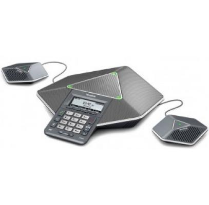 CP860 конференц-телефон, PoE, запись разговора, с 2-мя дополнительными микрофонами CPE80