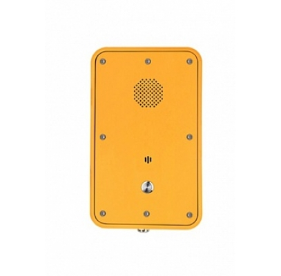 JR104-SC-Y-SIP Промышленный SIP телефон, DC 5V или PoE, 2 SIP аккаунта