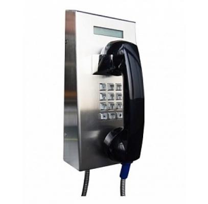 JR201-FK-VC-LCD-SIP Промышленный SIP телефон, DC 5V или PoE, 2 SIP аккаунта