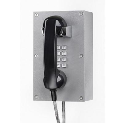 JR203-FK-OW-SIP Промышленный SIP телефон, DC 5V или PoE, 2 SIP аккаунта