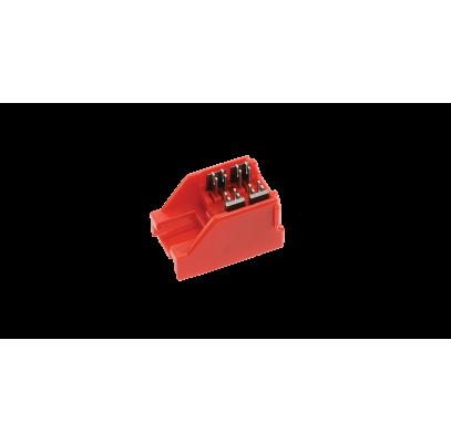 NMC-FT-INSET Сменная насадка NIKOMAX для инструмента NMC-FT-TOOL для быстрой заделки коммутационных модулей-вставок типа Keystone системы Fast Termination, серий: FT, ST, AN, LS