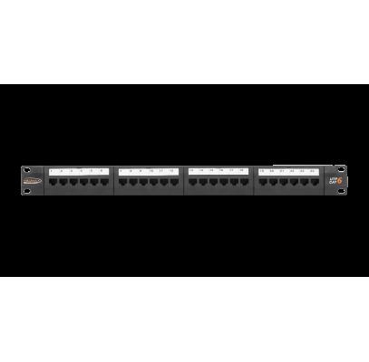 NMC-RP24UE2-1U-BK Коммутационная панель NIKOMAX 19