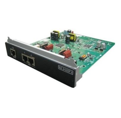 KX-NS0180X 2-портовая плата аналоговых внешних линий / 2-портовая плата ТА (SLC2/LCOT2) для IP АТС Panasonic KX-NS1000